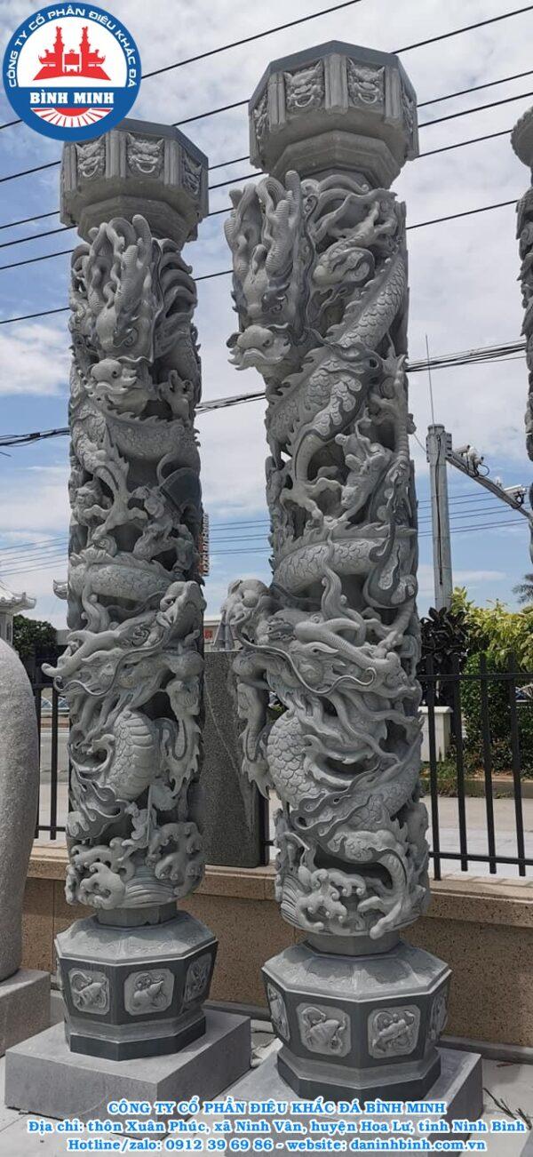 Cột đá tròn Bình Minh