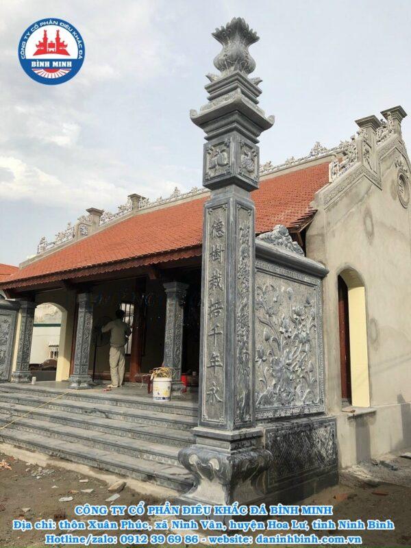 Cột đồng trụ đá nhà thờ họ