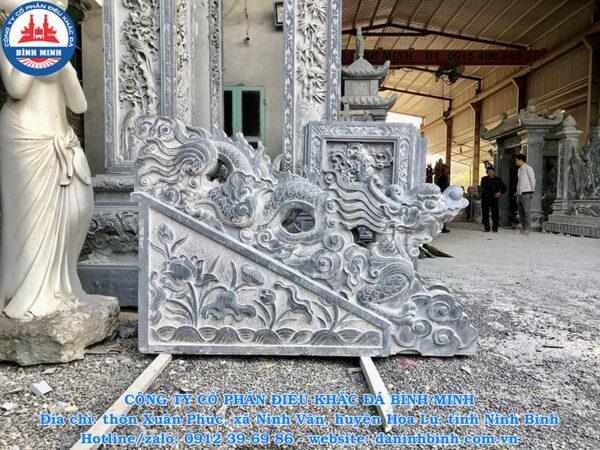Cấu tạo chung của tượng rồng đá