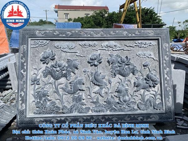 Chiếu đá cá sen đá xanh Thanh Hóa
