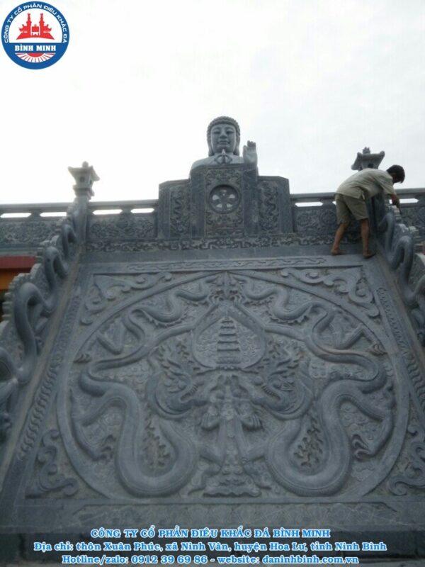 Chiếu rồng đá thời Lý tại SaPa Công ty Bình Minh thi công