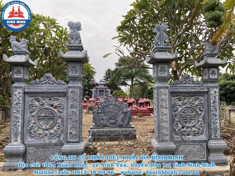 Cổng khu lăng mộ đẹp nhất