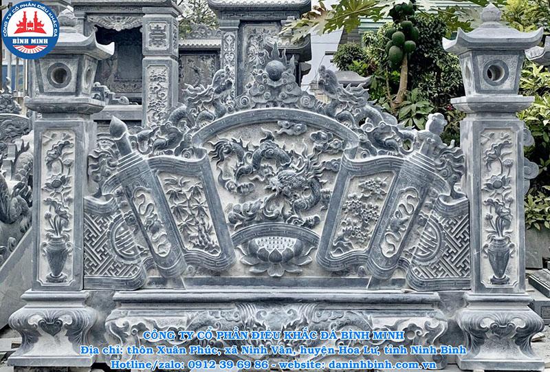Bình phong đá phong thủy đẹp