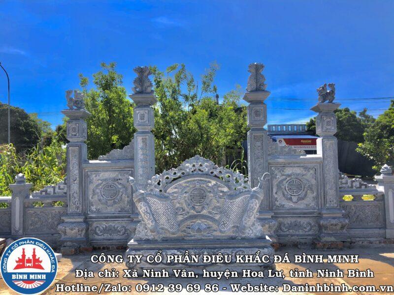 Cuốn thư ngũ phúc lâm môn khu lăng mộ đá đôi