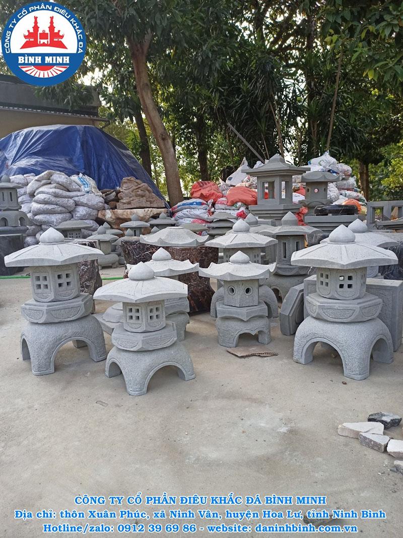 Mẫu đèn đá sân vườn cao cấp