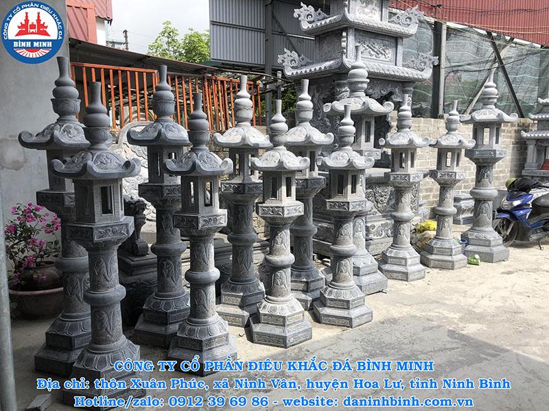 Đèn thờ đá phong thủy