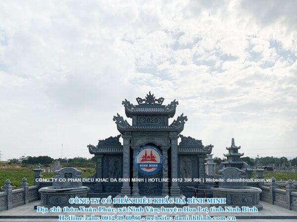 Khu lăng mộ cao cấp Công ty Bình Minh thi công