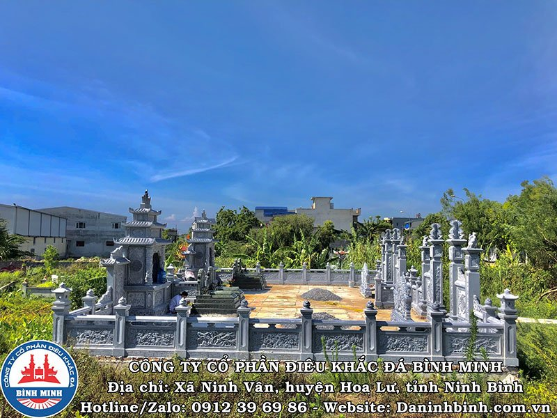 Khu lăng mộ đá đôi tại Nam Định