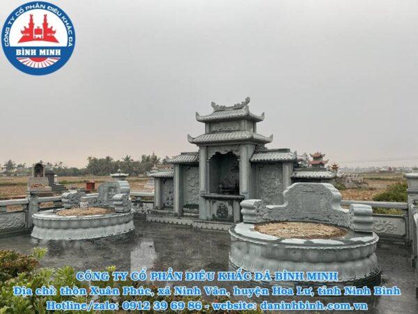 Khu lăng mộ đá tròn xanh rêu Công ty Bình Minh