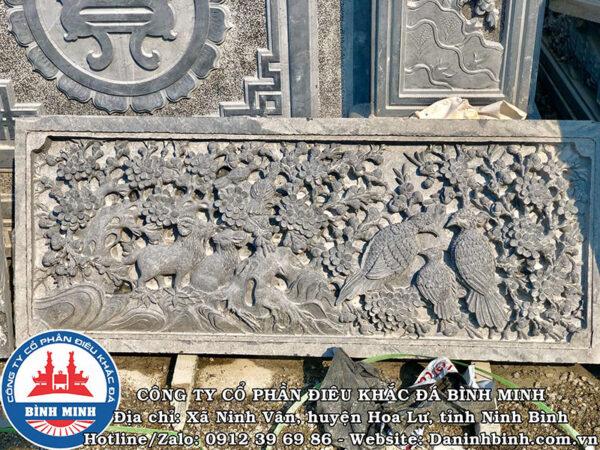 Lan can đá cảnh Mai tinh xảo tại Công Ty Bình Minh