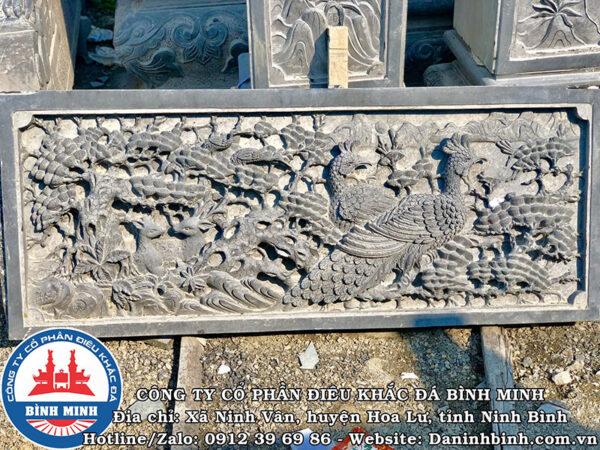 Lan can đá cảnh Tùng tinh xảo tại Công Ty Bình Minh