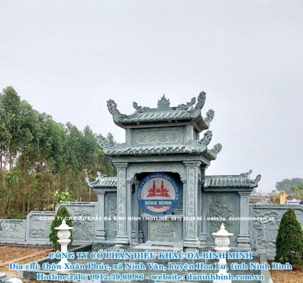 Lăng thờ đá Công ty Bình Minh thi công