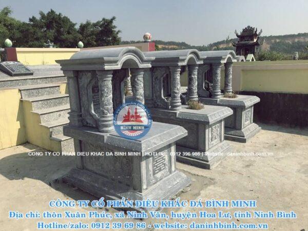 Lắp đặt mộ đá mái vòm trên toàn quốc