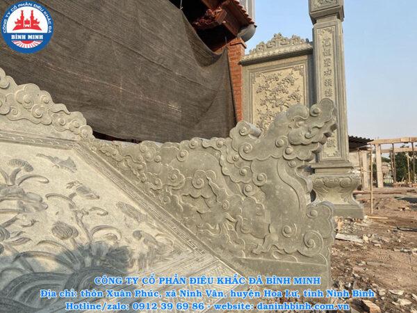 Lắp đặt rồng đá bậc thềm trên toàn quốc