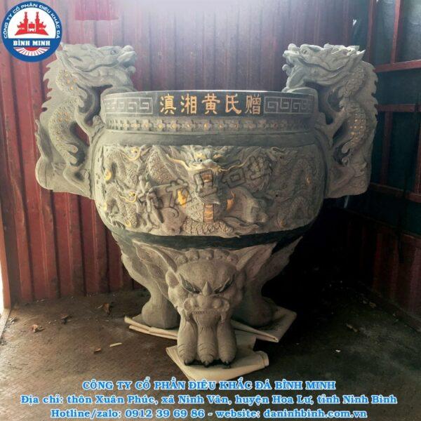 Lư hương đá rồng Công Ty Bình Minh