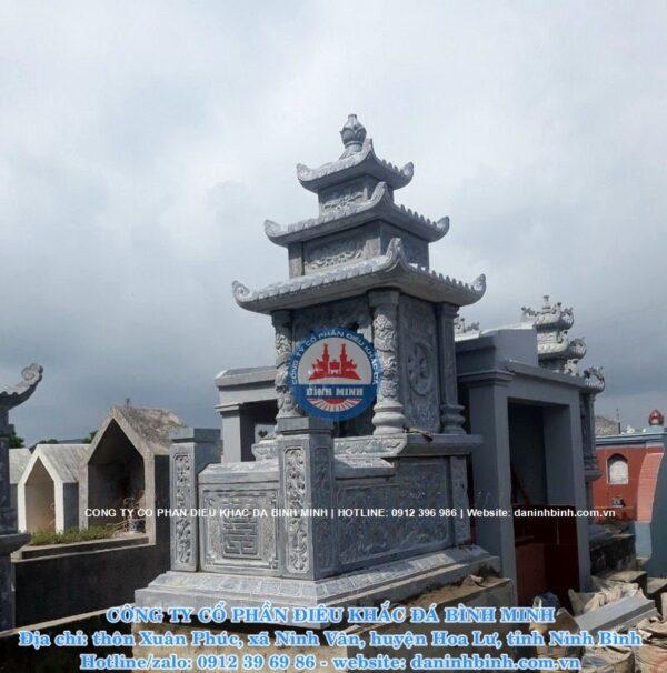 Mộ ba mái đá xanh Thanh Hóa
