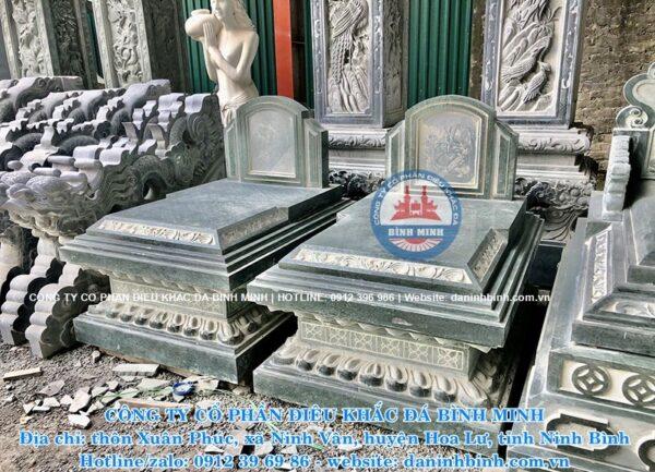 Mộ đá đơn giản đẹp cao cấp Công ty Bình Minh Ninh Bình
