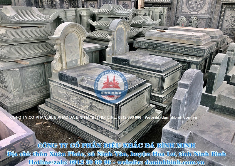 Hình ảnh mộ đơn giản nguyên khối