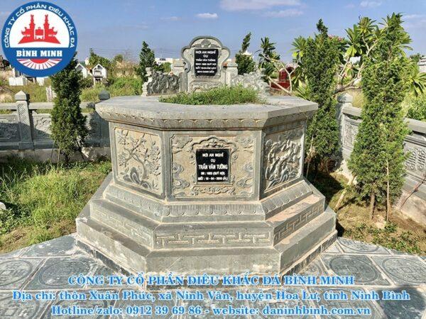 Mộ đá lục giác Công Ty Bình Minh