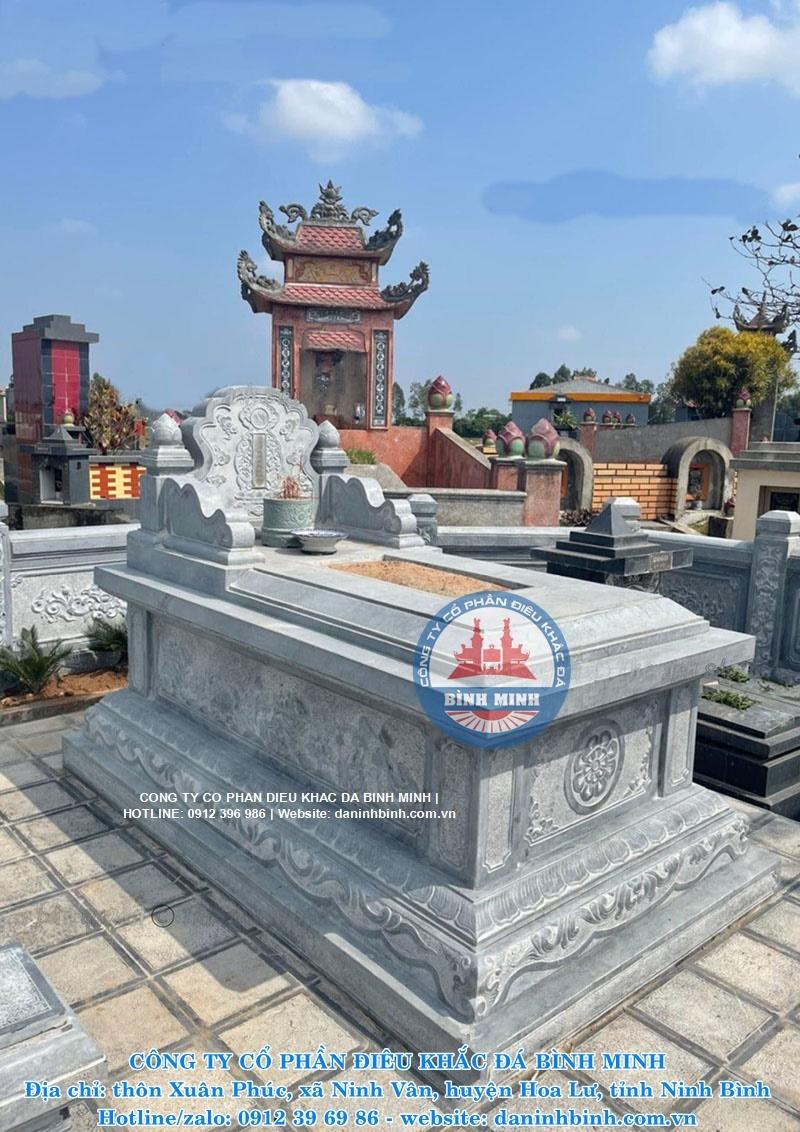 Mẫu mộ tam sơn đẹp