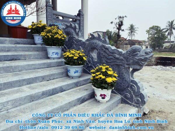 Rồng mây đá Công Ty Bình Minh thi công
