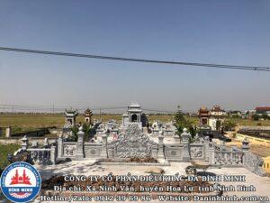 Toàn cảnh khu lăng mộ tại Thái Bình